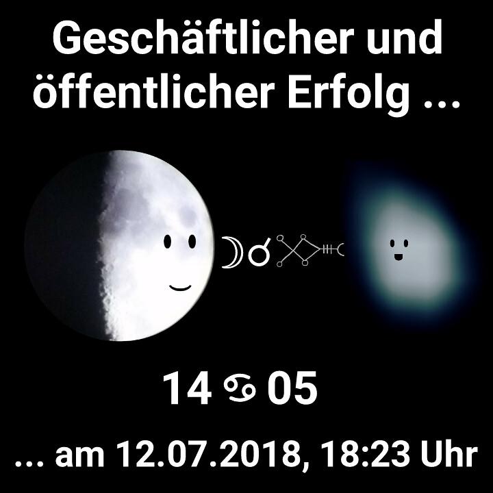 Mond Konjunktion Sirius