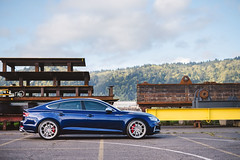 2018 Audi S5 Sportback (Rob Overcash Photography) Tags: audi b9 s5 sq5 matadorred navarrablue vossen forged