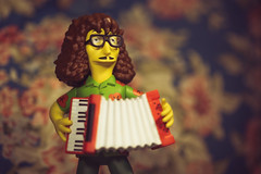 Polka Time! (3rd-Rate Photography) Tags: weirdal yankovic thesimpsons simpsons accordion polka musician parody toy toyphotography canon 50mm 5dmarkiii jacksonville florida 3rdratephotography earlware 365 neca