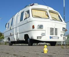 White Spaceship (captain_joe) Tags: toy spielzeug 365toyproject lego minifigure minifig starship spaceship camper van campingbus orion vintage oldtimer auto car