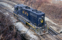 B&O GP38 4818 (Chuck Zeiler) Tags: bo gp38 4818 railroad emd locomotive akron train chuckzeiler chz