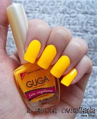 Esmalte 09 - Caju, da Guga. (A Garota Esmaltada) Tags: agarotaesmaltada unhas esmaltes nails nailpolish manicure guga caju laranja orange neon fluorescente