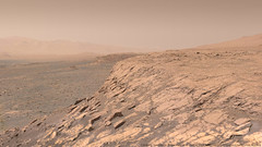 Climbing Vera Rubin Ridge - sol 1812 (Thomas Appéré) Tags: mars msl curiosity rover robot science technology geology crater mountain plain sand