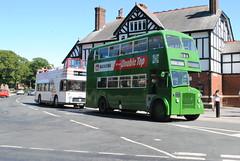 (Preserved) Merseyside PTE L227 SKB224 & Ribble 1995 OCK995K (Alan Sansbury) Tags: merseysidetransport merseysidepte mpte liverpoolcorporation nationalbuscompany exeastcounties ot5