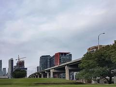 Photo (Kyra Savolainen) Tags: ifttt instagram toronto iphone summer 2018 fortyork gardinerexpressway highway condos construction cranes