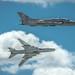 Su-22 demo team in action