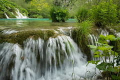 The beauty of water (hjuengst) Tags: plitvicerseen lake jezera nationalpark green grün water waterfall wasser wasserfall natur nature naturereserve kroatien croatia