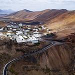 Aerial view of Spanish town in the mountains range / Luftaufnahme der spanischen Stadt in den Bergen thumbnail