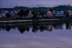 The Pond (shuklapr68@gmail.com) Tags: pond reflection evening bluehour landscape