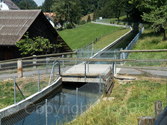 LOR202 Private Farm Bridge over the Lorze Factory Canal, Neuaegeri, Canton of Zug, Switzerland (jag9889) Tags: 2018 20180713 6314 bach bridge bridges bruecke brücke ch canal cantonzug cantonofzug crossing europe fluss gkz676 helvetia infrastructure kantonzug kraftwerk lorze neuaegeri neuägeri outdoor pont ponte private puente punt reuss reusstributary river schweiz span stone structure suisse suiza suizra svizzera swiss switzerland unteraegeri unterägeri zg zug jag9889