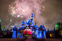 Together Forever — A Pixar Nighttime Spectacular - Disneyland fireworks show - Lightning McQueen projection (GMLSKIS) Tags: disneyland anaheim california nikond750