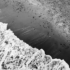 sea & sand II (Vivid Silence) Tags: sea balticsea ostsee heiligendamm meckpomm mecklenburgvorpommern sand winter bw monochrome blackandwhite beach