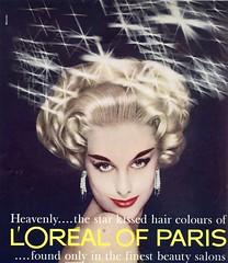 L'Oreal 1959 (barbiescanner) Tags: vintage retro fashion vintagefashion 50s 50sfashions 50sadvertising 1950sfashions 1950sadvertising 1959 vogue loreal shampoo
