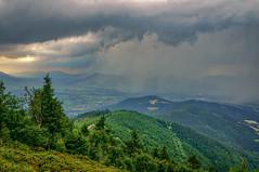 Bouřka z Lysé hory (Radebe27) Tags: landscape déšť rain krajina nebe sky mraky clouds leto summer hory czechrepublic ceskarepublika