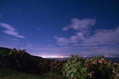 P7214764 (kunmorita) Tags: star 星 海 空 夜空 夜間撮影 sea sky night 夕焼け マジックアワー magic hour 黄昏