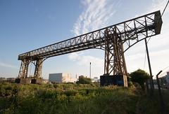 Warrington transporter bridge 04 jul 18 (Shaun the grime lover) Tags: mersey warrington bridge river industrial chimney works arpley bankquay transporter cheshire