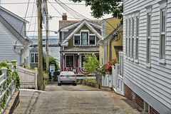Houses East End (PAJ880) Tags: east end provincetown ma commercial st houses lane cape cod bay