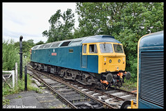 No 47401 North Eastern 17th June 2018 Midland Railway Diesel Gala (Ian Sharman 1963) Tags: no 47401 north eastern 17th june 2018 midland railway diesel gala class 47 duff station engine rail railways train trains loco locomotive passenger heritage line hammersmith butterley swanwick junction riddings mr