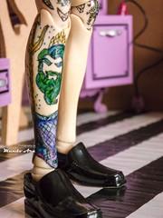 New Tattoo (Mundo Ara) Tags: taeyang tattoo doll custom