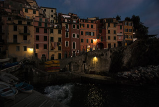 449 - Late Night Riomaggiore
