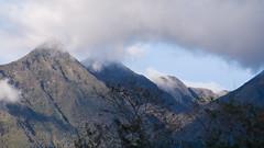 peaking peaks (Bernal Saborio G. (berkuspic)) Tags: nationalpark tropicalrainforest cloudforest volcano baruvolcano clouds mountain