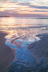 Watery Fingers (Hayle Sands, Cornwall) (Andrew Hocking Photography) Tags: hayle sands haylesands beach sunset cornwall seaside sea coast coastal sky seascape landscape meander meandering water reflection ocean explored inexplore