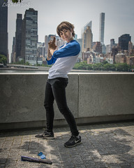 Very Hot Voltron Cosplay 18-42 (Likemore) Tags: voltron cosplay nyc roosevelt island hudson river anime people