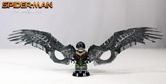 Vulture's Wings (LegoMatic9) Tags: custom lego spiderman homecoming vulture minifigure toy marvel