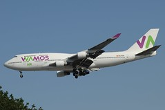 EC-KXN (LIAM J McMANUS - Manchester Airport Photostream) Tags: eckxn wamosair wamos eb plm boeing b747 b744 744 b74f jumbo boeing747 boeing747400 manchester man egcc