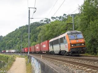 BB26191 - Train 50380 Vénissieux-Voyageurs>Rennes