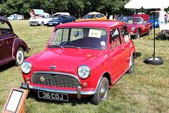 1960 Austin Seven Mini 36 COJ Wiston Steam Rally 2018 (davidseall) Tags: 1960 austin mini seven 36coj 36 coj classic original old shape red wiston steam fair rally west sussex uk gb 2018