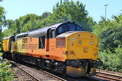 COLAS Rail 37175 - Mansfield Woodhouse (the mother '66' 66001) Tags: col colas class37 37254 37175 mansfield mansfieldwoodhouse robinhoodline nottinghamshire rail railways doncaster derby derbyrtc networkrail
