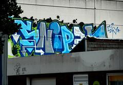 graffiti in Amsterdam (wojofoto) Tags: amsterdam nederland netherland holland graffiti streetart wojofoto wolfgangjosten sniper rooftop