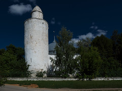 mosque and minaret in Kasimov (ssmirnovphoto) Tags: russia panasonic lumix tz200