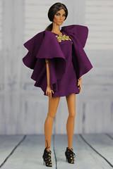 Fashion Royalty Elyse Seduisante (Regina&Galiana) Tags: fashionroyalty integritytoys doll dress ooak forsale nuface barbie giselle fairytale convention elyse majestic wanderlust seduisante