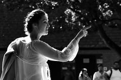 """Much ado about Nothing"" (42jph) Tags: nikon d7200 uk england stratford upon avon mono monochrome black white bw candid street people stratforduponavon warwickshire shakespeare"