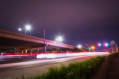 intersection at night (Tomás Harrison Fotografía) Tags: lightpainting night lighttrails d750 nikon availablelight austin afnikkor24mmf28d landscape atx longexposure tx usa