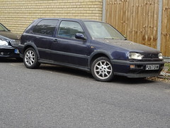 1997 Volkswagen Golf GTI (Neil's classics) Tags: vehicle 1997 volkswagen golf gti vw abandoned
