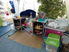 IMG_20180712_200626219 (lorello) Tags: camping capoferrato tenda piazzola cucina