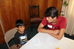 BOSH Volunteer Nolan and buddy