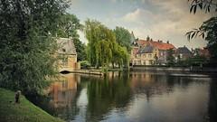 Brujas - Bruges (Belgium) (Marina Is) Tags: rio river agua water arbol tree brujas bruges reflejo reflection