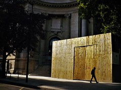 Fraternité (*F~) Tags: paris france liberté égalité fraternité bleu blanc rouge gold or ouro coupedumonde walking walkers chantier