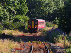 153325 Falmouth Docks (7) (Marky7890) Tags: gwr 153325 class153 supersprinter 2p89 falmouthdocks railway cornwall maritimeline train