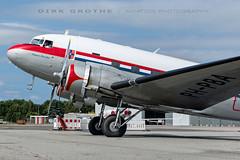 DDA_DC-3_PH-PBA_20180715_LBC-14 (Dirk Grothe   Aviation Photography) Tags: classic dutch dakota dc3 phpba lbc lübeck dda