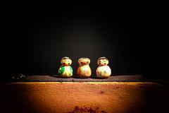 THE LUCKY ONES! (Ageeth van Geest) Tags: orange 7dwf gelukspoppetje geluk stilleven stilllife color luckydoll goodluck smileonsaturday luckycharm