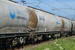 12403 Kingsthorpe 060618 (Dan86401) Tags: wilsonscrossing kingsthorpe northampton 6m92 12403 vtg12403 jpa bogie cement powderedcement tank wagon freight tarmac crh vtg
