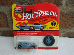 Hot Wheels 25th Anniversary Redline Beatnik Bandit Metallic Light Blue Mint & Carded (beetle2001cybergreen) Tags: hot wheels 25th anniversary redline beatnik bandit metallic light blue mint carded
