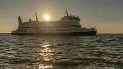 Ro-Ro/Passenger Ship Nordfriesland, W.D.R. Wyker Dampfschiffs-Reederei Föhr-Amrum, Dagebull, Germany (EmoHoernRockZ) Tags: 2018 alphaemo amrum de dagebull dagebüll deutschland emohoernrockz ferry fähre föhr germany nychennecom nordfriesland northsea passengership schiff schleswigholstein sea strucklahnungshorn strucklahnungshörn summer vessel wdrwykerdampfschiffsreedereiföhramrum wdr wyk sunset