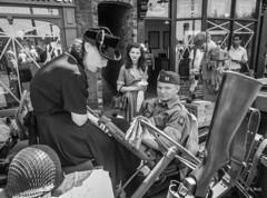 Black Country Museum 2018 pic59 (walljim52) Tags: blackcountrymuseum dudley wartime 1940s event actors reenactors reenactment ww2 civilian military soldier uniform man woman child
