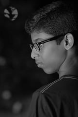 (nipunagamage) Tags: nightportraits blackandwhite godoxtt520ii godox flashlight nikon135mmf2dc nikon135mm nikond200samples nikond200 nikon portraits